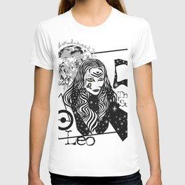 Leo - Zodiac Sign T-shirt