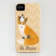 Be Brave - Fox Native iPhone (4, 4s) Slim Case