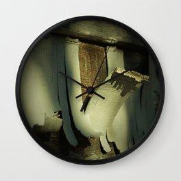 Peeling Wall Clock
