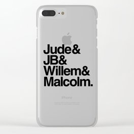 A Little Life Book Clear iPhone Case