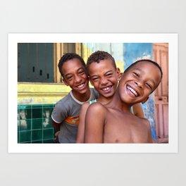 Los Muchachos de Habana Vieja, Cuba Art Print