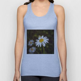 Daisy in all its glory Unisex Tank Top