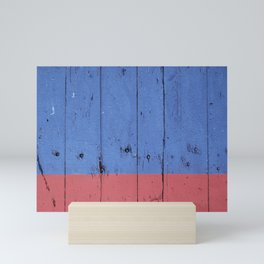 Blue & Red Mini Art Print