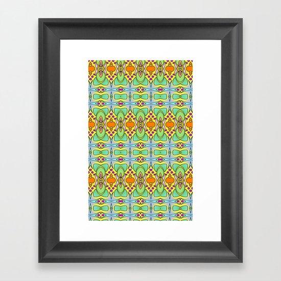 Bananas, Tangerines and Pistache! Framed Art Print
