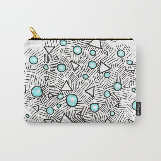 Shiny Bubbles Carry-All Pouch