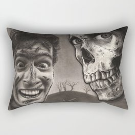 Evil Dead II - Ash Williams and Skull Rectangular Pillow