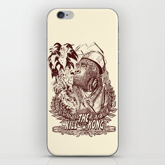 KILL THE KONG iPhone & iPod Skin