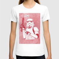 trooper T-shirts featuring Storm Trooper by David Penela