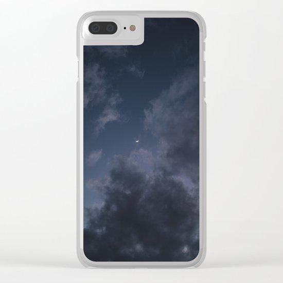 Hawaiian Moon II Clear iPhone Case