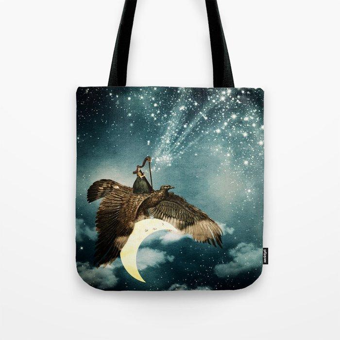 The Night Goddess Tote Bag