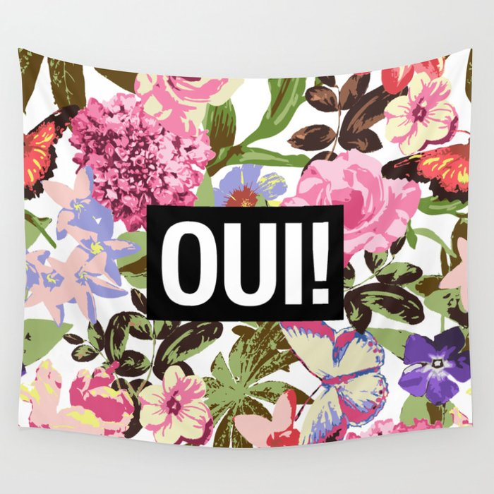 OUI Wall Tapestry