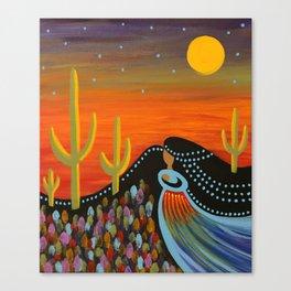 Desert Mother Canvas Print