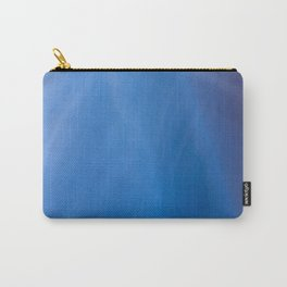 Blue Folds Carry-All Pouch