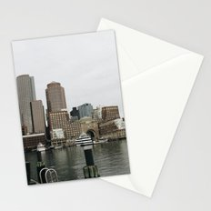 The City In November Stationery Cards