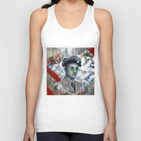 soldier Tank Tops featuring The Forgotten Soldier by FAMOUS WHEN DEAD
