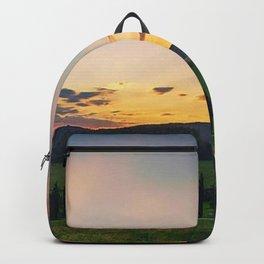 Tuscany, Italy Sunset (Last Glimpse) Backpack