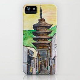 Kyoto, Japan iPhone Case