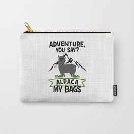 Alpaca My Bags  Travelling Carry-All Pouch