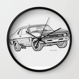 1968 Nova Wall Clock