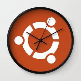 Ubuntu Logo Wall Clock