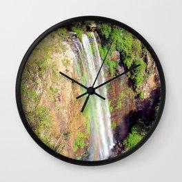 Queen Mary Falls Wall Clock