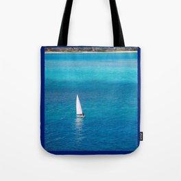 Perfect Blue Sailing Day Tote Bag