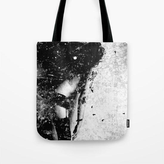 Nude art - time Tote Bag