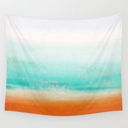 Waves and memories 02 Wall Tapestry