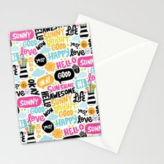 Sunshine & happiness Stationery Cards