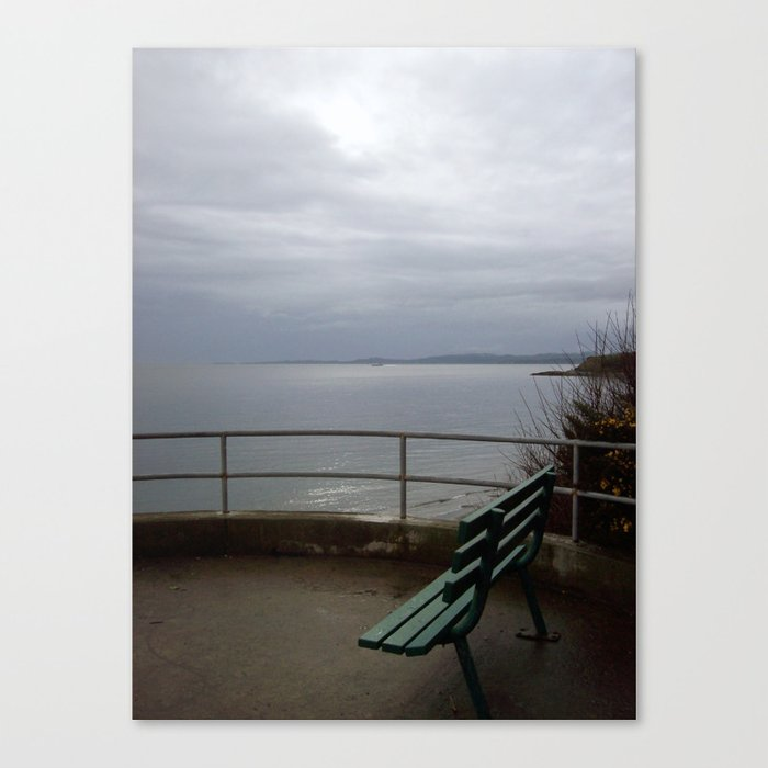 The View from the Bench Canvas Print