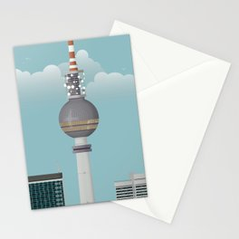 Berlin | Retro Travel Poster Stationery Cards