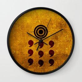 rikudo sennin art Wall Clock