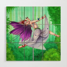 Pole Creatures - Fairy Wood Wall Art