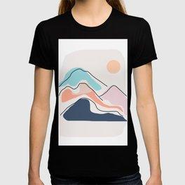 Minimalistic Landscape III T-shirt