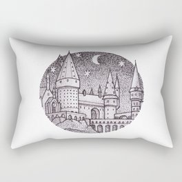 School of Witchcraft and Wizardry Rectangular Pillow