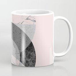 Circle geometric abstract art print Coffee Mug