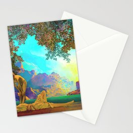Daybreak By Maxfield Parrish Stationery Cards