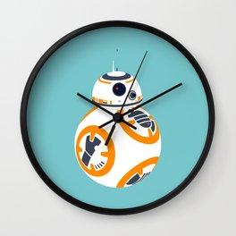 BB8 Blue Wall Clock