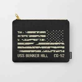 USS Bunker Hill Carry-All Pouch