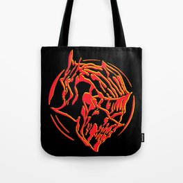 Ember Knight Tote Bag