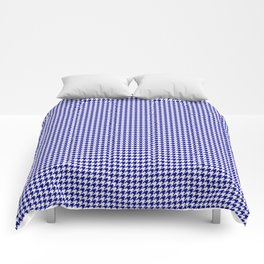 Large Australian Flag Blue and White Gingham Houndstooth Check Comforters