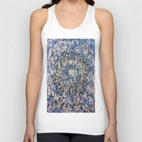 abyss Tank Tops featuring EMERALD ABYSS by Glint & Lime Art