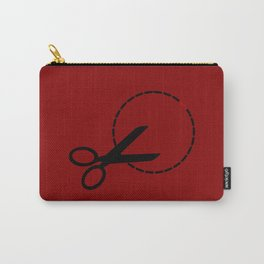 Cut here with scissors Carry-All Pouch