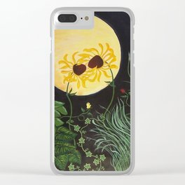 By the Blessed Moon I Vow Clear iPhone Case