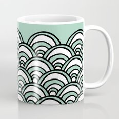 Waves Mint Mug
