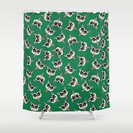 Cat got your tongue? Shower Curtain