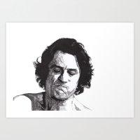 robert farkas Art Prints featuring Robert by Rik Reimert