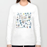 morocco Long Sleeve T-shirts featuring Morocco Sketch by Nic Squirrell