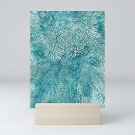 Cells interlinked Mini Art Print