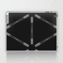 Industria Black Minimal Goth Style Laptop & iPad Skin